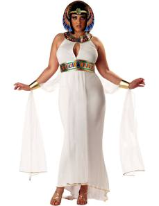 Be the Queen of the Nile in this Cleopatra fancy dress costume for