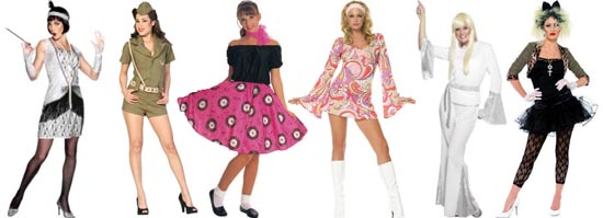 967ecd59 Fancy Dress Clothes For Sixties And Seventies Themed Fancy Dress ...