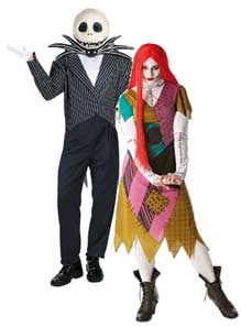 Nightmare Before Christmas fancy dress costumes