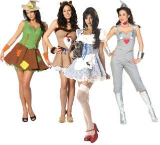 Sexy wizard of oz theme fancy dress costumes for hen nights wizard of oz theme fancy dress costumes for women solutioingenieria Images